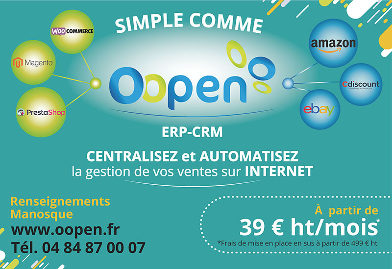 Avec Oopen vendez sur les marketplaces Amazon, Ebay, Cdiscount...